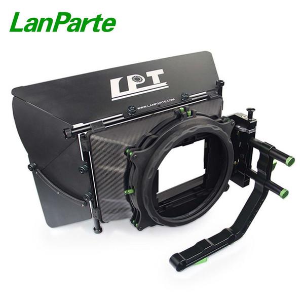 Lanparte 19 mm Kohlefaser Matte Box mit 4 * 5,65 Filterhalter