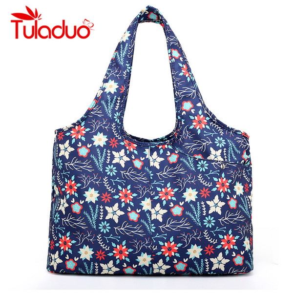 Large Capacity Women Bags Waterproof Nylon Mom Ourdoor Handbag Bags For Ladies 2018 Casual Shopping Shoulder bolsa feminina