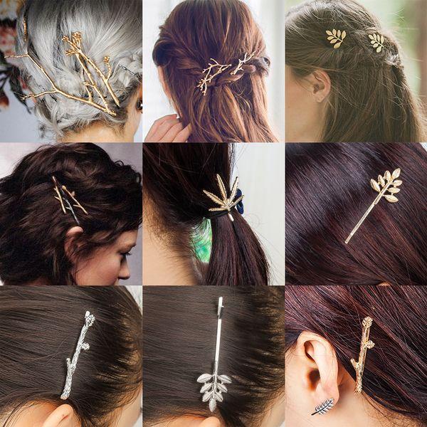 Tamax HF001 Neue Koreanische Ast Haarnadel Haarspangen Haarspangen Mädchen Haarschmuck für Frauen Headwear pins accesorios para el pelo