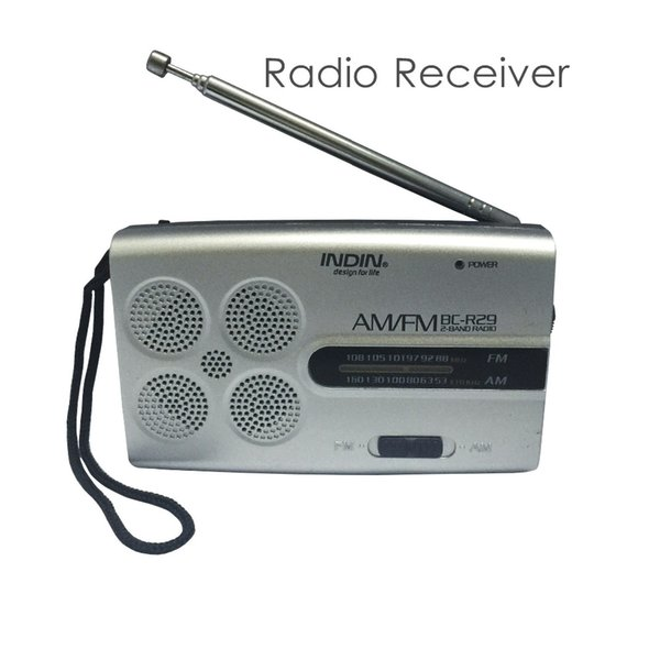 Digital Tuning Stereo Player FM/AM Radio Receiver Mini Radio Receiver Music Speaker Powerful Radio Receiver for Parents Gifts