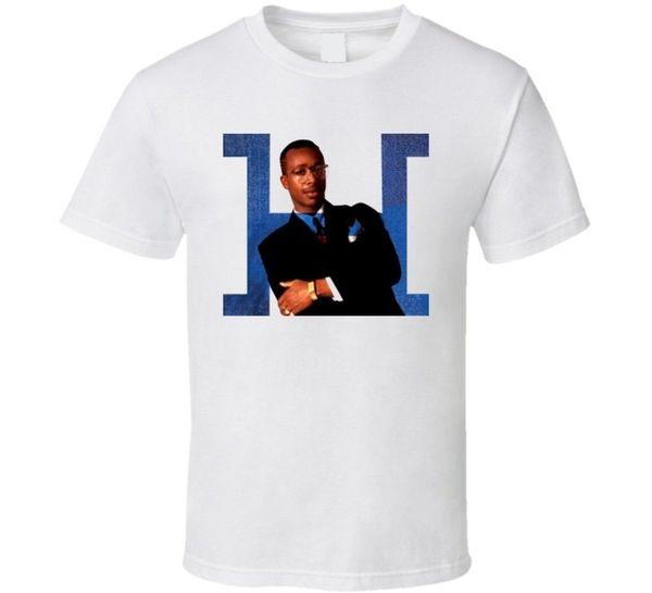 Maglietta MC Hammer Maglietta a maniche corte T-shirt in cotone Maglietta a maniche lunghe T-Shirt in cotone a manica corta nera Maglietta Hip Hop