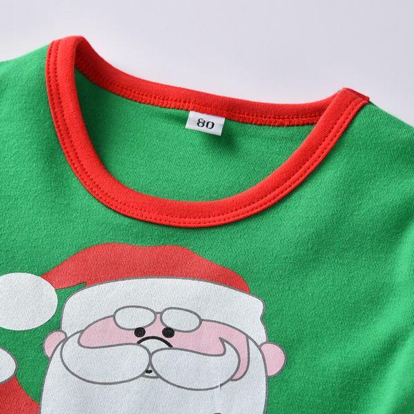 5 A/ños QUICKLYL 2PCS Pijamas Navidad Beb/é Ni/ños Ni/ña Rayas Mangas Largas Invierno Oto/ño Top+Pantalones Ropa Conjunto 120