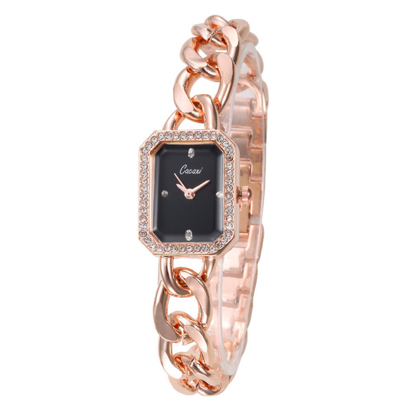 Big Brand with The Same Chain Watch Female Models Waterproof Quartz Wrist Watch for Women Small Dial Ladies Reloj Mujer