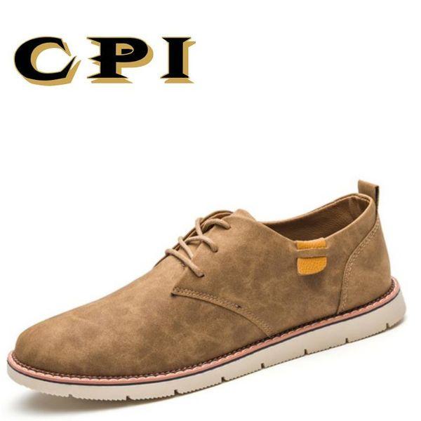 CPI neue Art und Weiseentwurfs-britische Art-einfache beiläufige Schuhe der Männer bequeme weiche Schuh-Futter Breathable beiläufige Schuhe DD-34