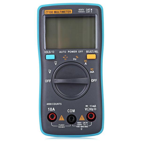 Freeshipping Nouvelle arrivée Gamme automatique Multimètre numérique Électrique Portable DC / AV Test Meter