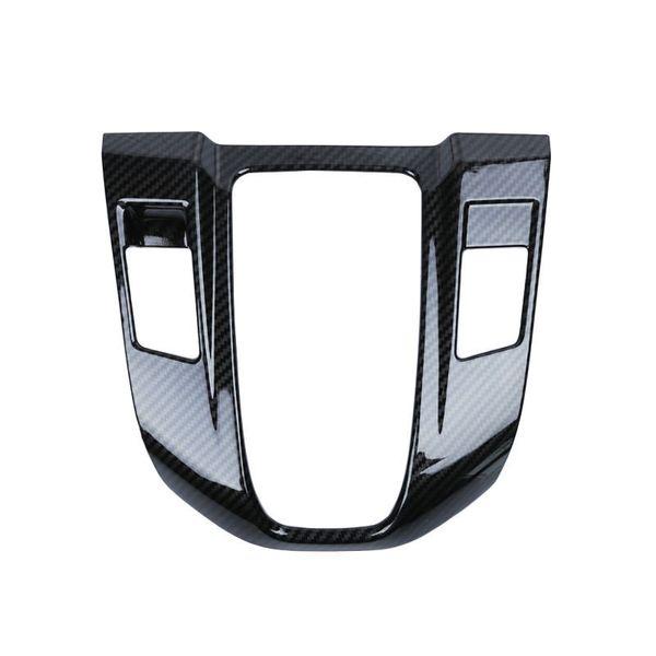 Carbon Fiber Interior Gear Shift Frame Cover Trim for Honda CRV CR-V 2017-2018