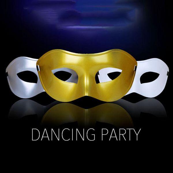 Maschera mezza faccia di travestimento veneziana delle donne classiche / degli uomini per la sfera del costume del partito 4 colori, trasporto libero trasmetta