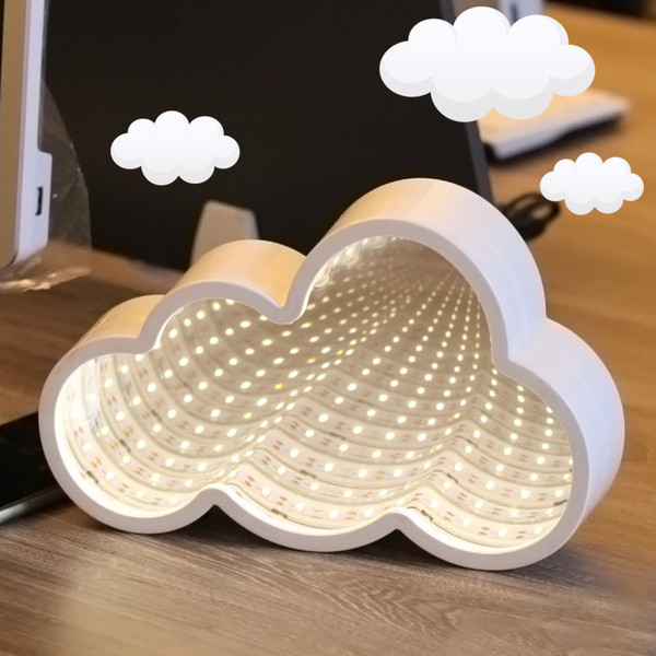 Direct selling girl, heart time tunnel, cloud modeling lamp, indoor neon lighting lamp