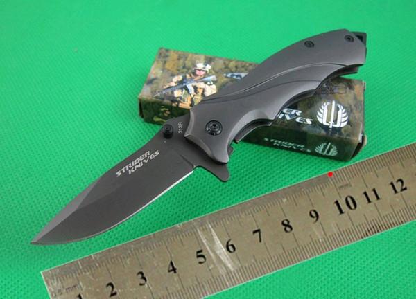 Новый STRIDER 313B Складной Карманный Нож Тактический Инструмент Выживания Охота Нож Рождественский подарок нож для человека 1 шт.