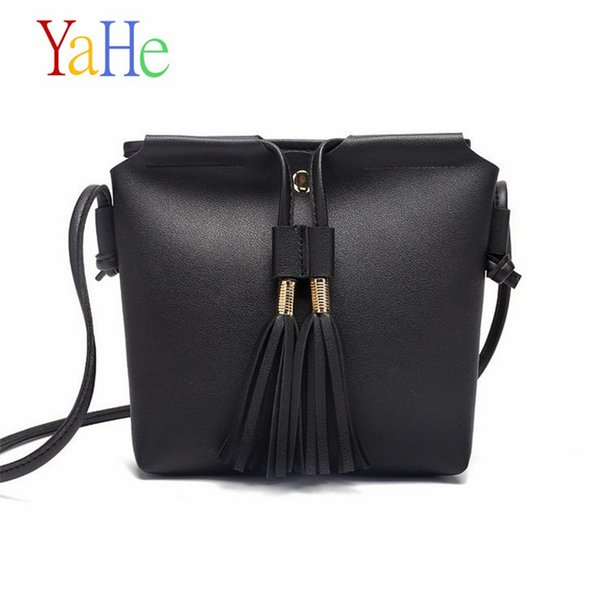 YaHe Women PU Leather Messenger Bags Mini Cell Phone Pouch Students Crossbody Case Girl Small Shoulder Bags For Kids Childrens
