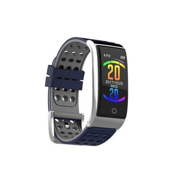 English Version Long Standby Day Sports Health Monitor Smart Watch Wrist Band Bracelet for Android IOS #Y