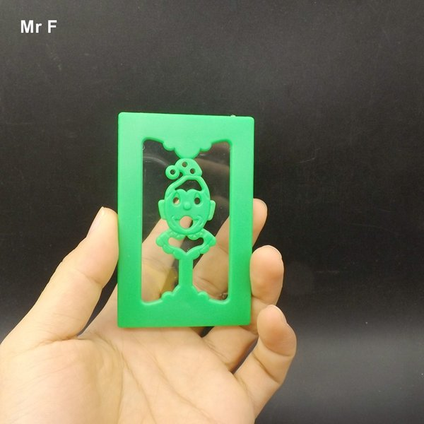 Close Up Magic Through Card Magic Trick Prop Toy Kid Game Teaching Intelligence Toys For Children