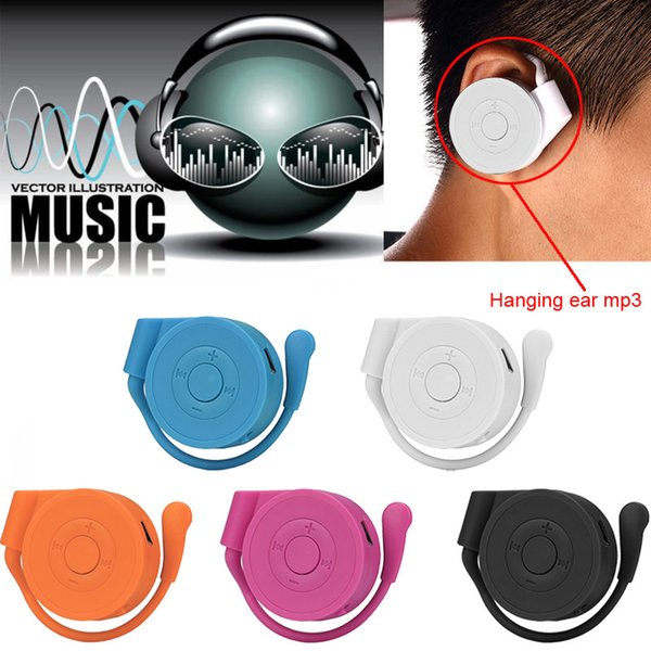 Lecteur MP3 portable Mini oreille suspendue lecteur mp3 Musique USB avec lecteur de carte TF Course à pied Sport Walkman Lettore D30 Jan8