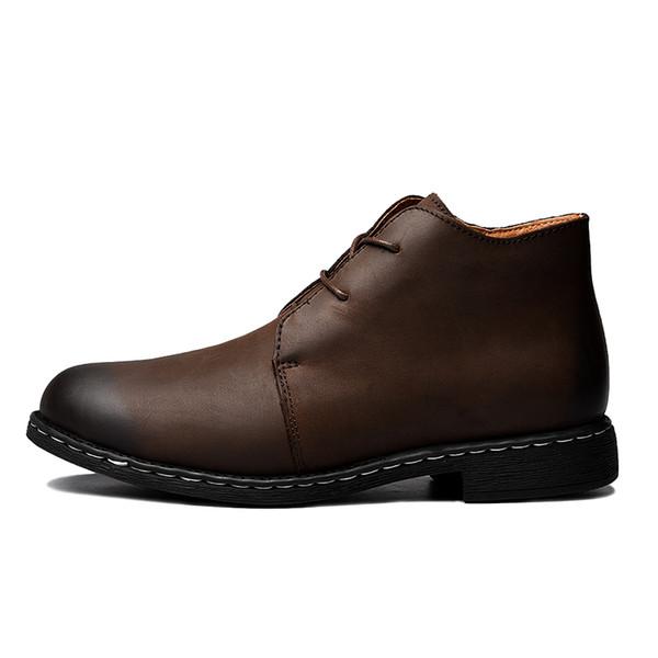 Männer Stiefel 2018 neue Mode s Schuhe Männer Casual Schuhe Oxfords für Frühjahr Sommer Winter Turnschuhe Hyg-208