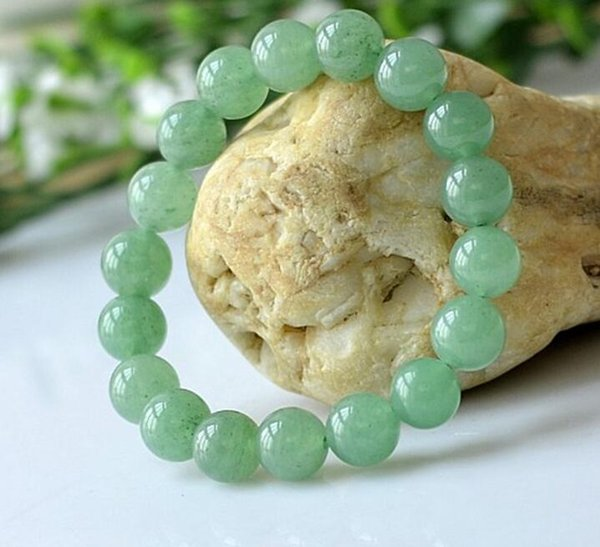 Factory direct natural Dongling jade bracelets Dongling jade string 10-14MM men and women jade bracelets