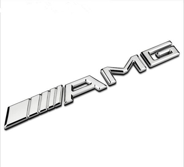 Automodellierung 3D AMG Metallaufkleber für Mercedes W203 W210 W211 W204 Benz CES CLS Automodellierung