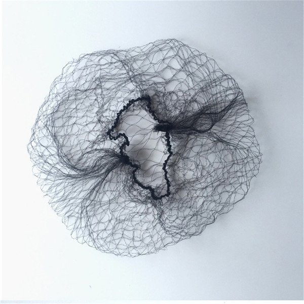 10 Pcs wig cap disposable hair nets Invisible Nylon hairnet hair accessories black