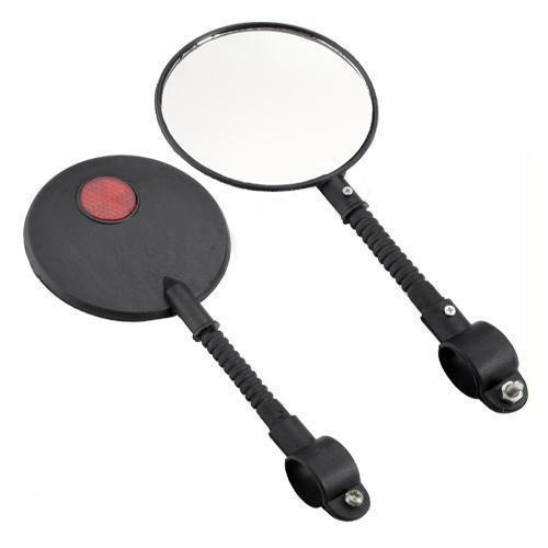 Fahrrad / Fahrrad / Fahrrad / Motorrad / Roller Interaktiver Lenker-Rückspiegel, seitliche kompakte Spiegel Für Motorradreparatur-Spiegelwerkzeuge