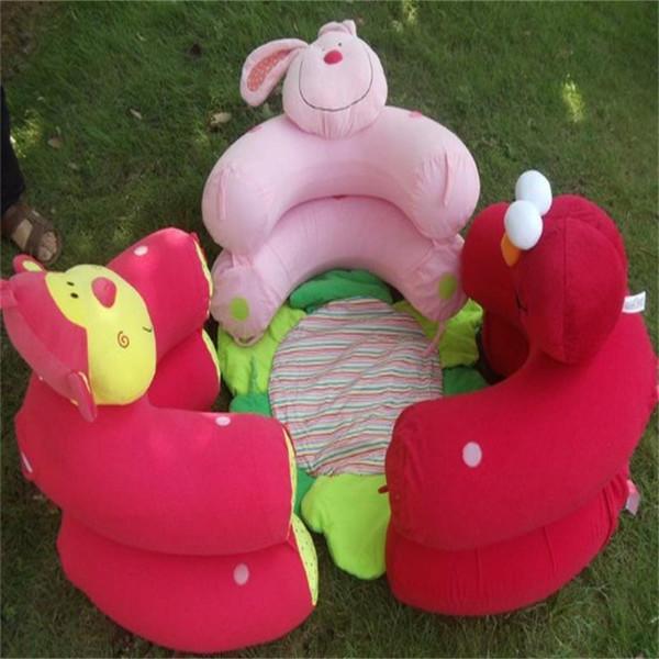 Blue Blossom Farm Sit Cosy Baby Play Mat Multi Function Monkey Rabbit Nest Infant Seat Carpets Inflatable Sofa Kid Toy 28cs bb