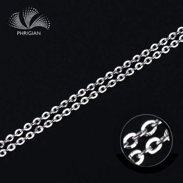 Certified Jewelry 100% S925 Sterling Silver Genuine 1mm Rolo chain accessory women 16 18inch jewelry finding exquisite lot bulk