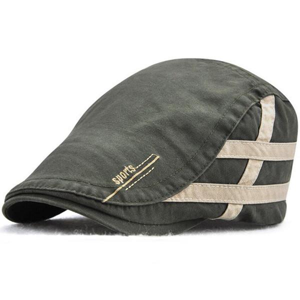 9c589951 Cotton Flat Cap Newsboy Hat Beret Ivy Irish Cabbie Scally Driving Strapback  Outdoor Sports Vintage Men