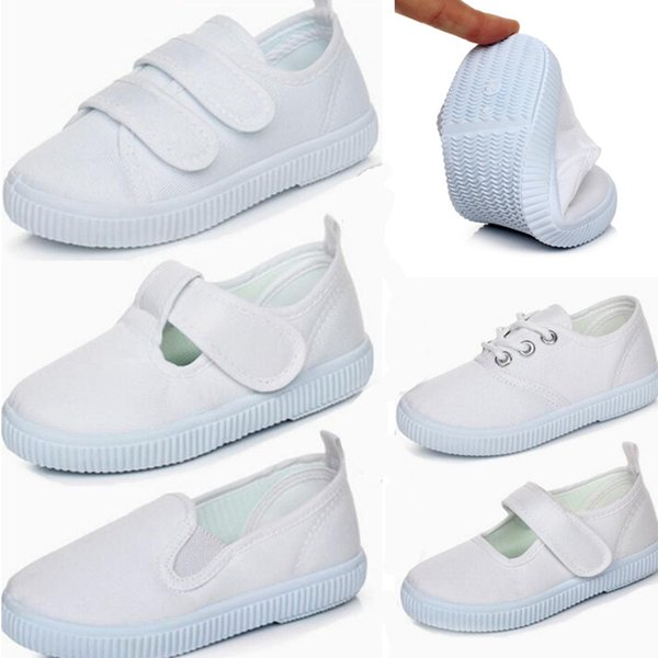 Enfants Chaussures Blanches Occasionnels u96A7