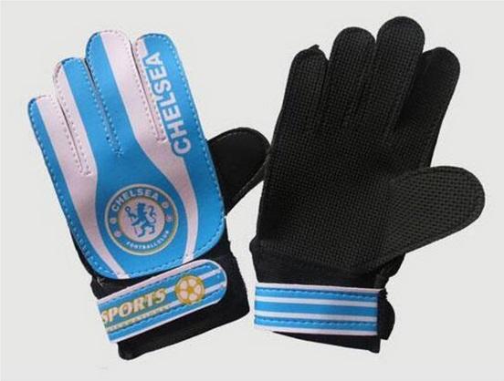 Children Football Fans Goalkeeper Gloves,Non-slip Foaming PU Leather Soccer Gloves,Suitable for 7-15 age Boys Goalie Gloves