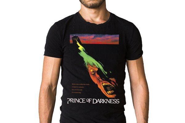 Prince Of Darkness 1987 Film Poster T-Shirt High Quality Custom Printed Tops Hipster Tees T-Shirt