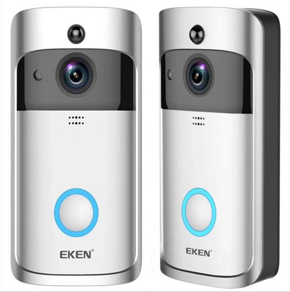EKEN Умный дом Видеодомофон 720P HD для подключения Wi-Fi Видеокамера реального времени