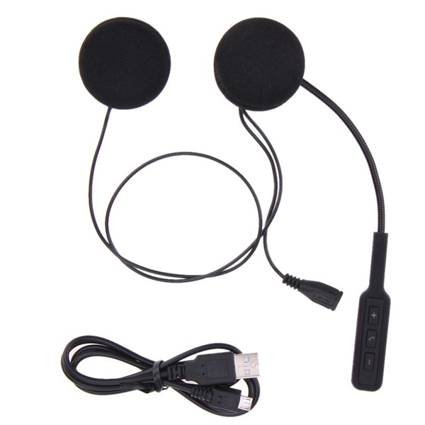 Motorcycle Motor Wireless Bluetooth Headset Motorcycle Helmet Earphone Headphone Speakers Handsfree Music For MP3 MP4 Smartphone