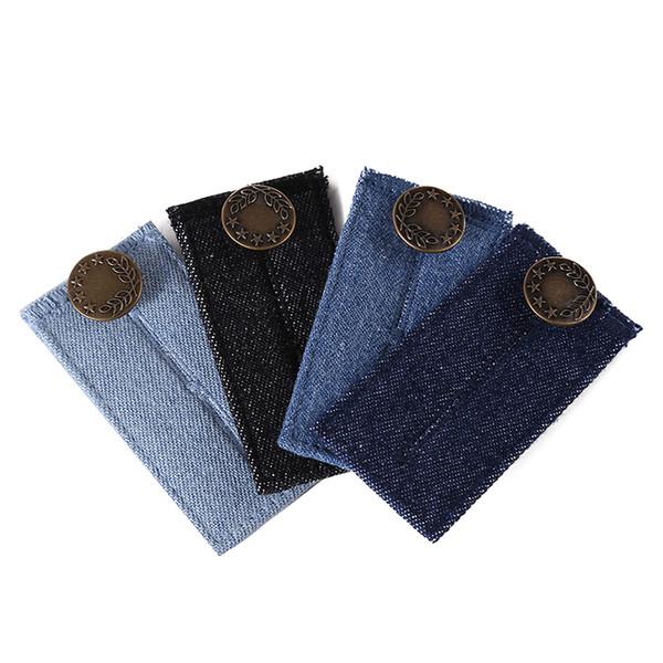 Denim Jeans Taille Extender Easy Fit Jeans Bouton Taille Extender Pantalon Belly Belt WristBand Accessoires de Mode