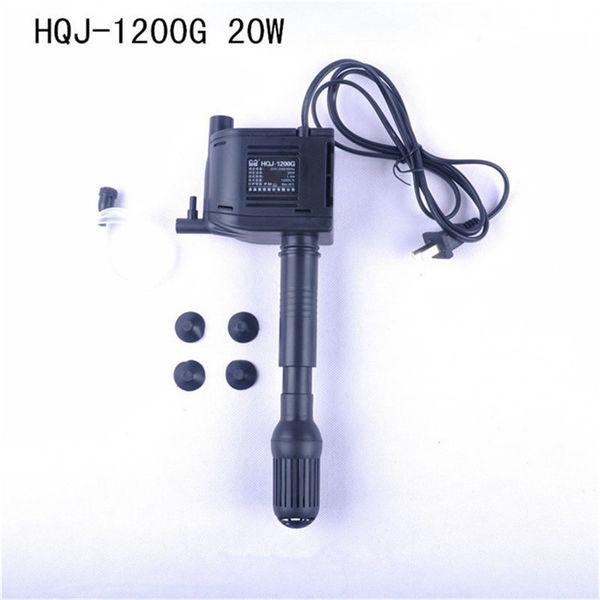 best selling SUNSUN HQJ-1200G 20W 1200L H Multi-Function Aquarium Submersible Pump Powerhead Fish Tank Oxygen Water Filtration Pump AC220-240V