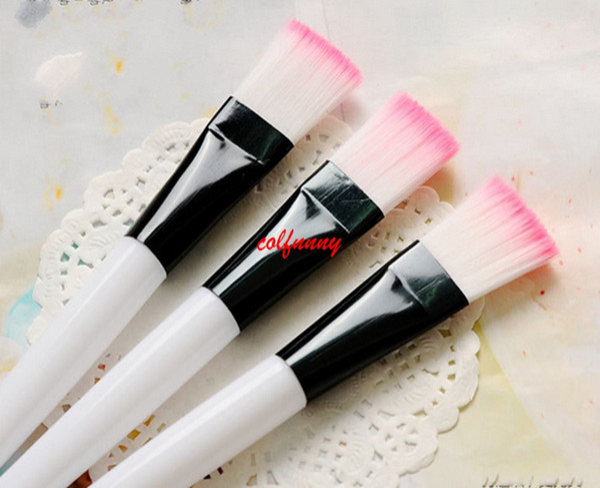 100 pcs/lot Women Home DIY Facial Women Home DIY Facial Face Eye Mask Brush Treatment Makeup Cosmetic Beauty Soft Brush Tool