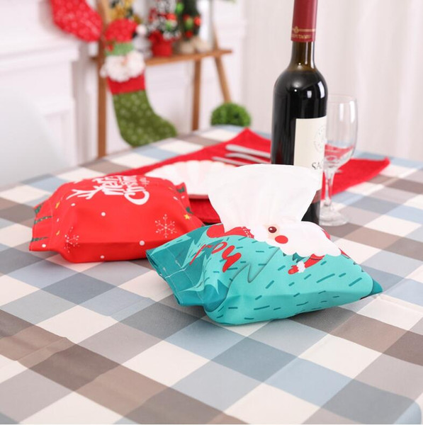 Christmas decorations Tissue Box Cover very fashion christmas gift can be used in car home decorations ordinary medium size FP11