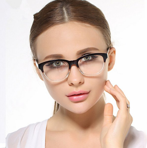 Eyewear Glasses Frame Brand Design Reading Glass Full Frame Women Computer UV Glasses Eyes Protect Eyewear