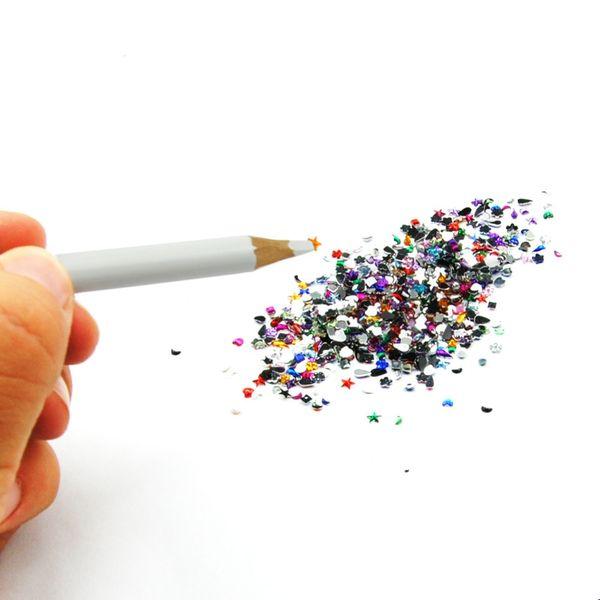 4pcs Professional Wax Dotting Pen Nail Art Rhinestones Gems Picking Crystal Tools Pencil Pen Easily Pick Up Manicure