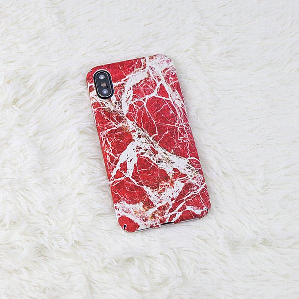 Colorful Marble Phone Case For iphone X Case Gold Texture Granite Cover Hard Glossy Full Protect Cases For iphone 8 6 6S 7 Plus