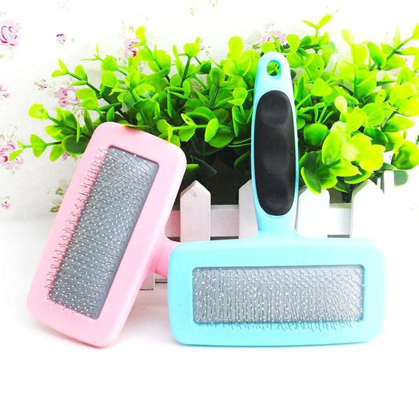 Pet Massage Comb Dog Grooming Tool Anti Static Combs for Cats Stainless Steel Needle Dog Brush Pet Hair Removal Comb Cat Brushes