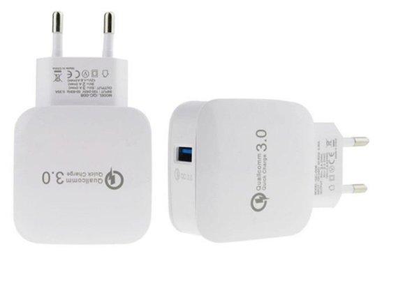 Chargeur mural USB Chargeur rapide Adaptateur de voyage rapide QC 3.0 Power EU Station de chargement rapide US pour Iphone X 7 sans emballage