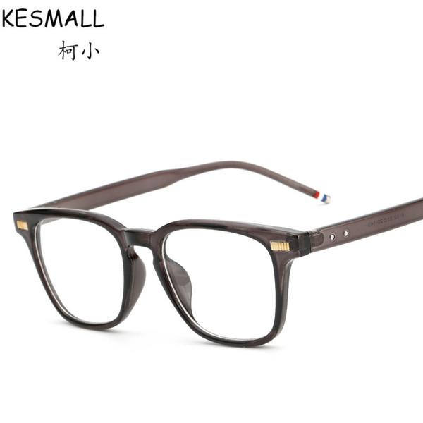 2017 Moda Gözlük Çerçeve Kadınlar Vintage Optik Gözlük Çerçeve ulculos De Grau Erkek Oyun Gözlük Çerçeveleri Fit Şeffaf Lens YJ129