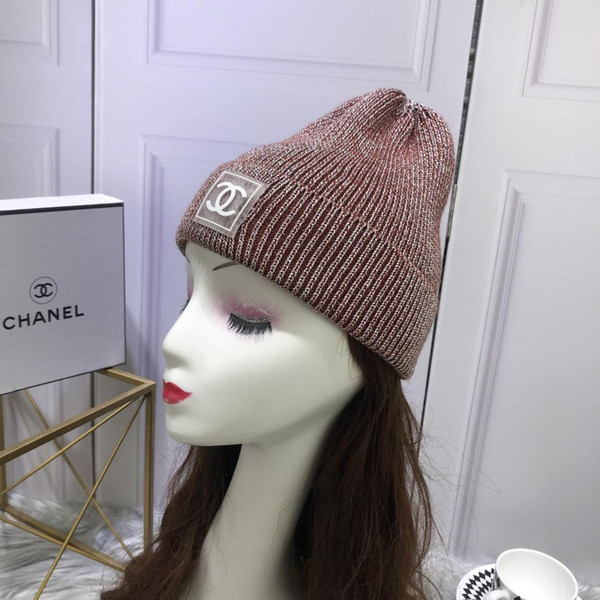 wholesale Designer choice Solid Color winter Winter Skullies beanies for Boy girl brand hat warm knitted warm Hat brand Beanies for men
