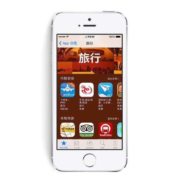 Apple iPhone 5S 16GB 32GB 64GB 4.0 inch Retina Screen iOS 8.0 Dual Core A7 8.0MP Camera GPS Refurbished Smartphone - Non Touch ID Version