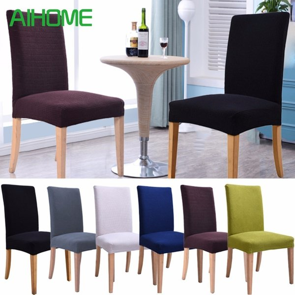 Marvelous Plaid Polar Fleece Thickened Elastic Chair Covers Slipcovers Antifouling Chair Cover For Wedding Kitchens Hotel Coffee Shops Tablecloth And Chair Caraccident5 Cool Chair Designs And Ideas Caraccident5Info