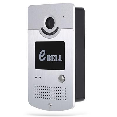eBELL Smart IP Türklingel 1.0MP 720 P WiFi Kamera Bewegungserkennung drahtlose ip video türsprechanlage unterstützung 64G TF entsperren elektrische türschloss