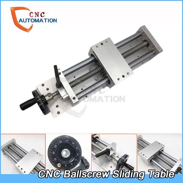 Manual Sliding Table SFU1605 Effective Stroke Linear Guides Cross Slide Table C7 Accuracy CNC Machine