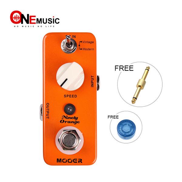 Mooer Ninety Orange Phaser Pedal Full analog circuit, warm, deep, rich phasing tone Full metal shell True bypass MU0341