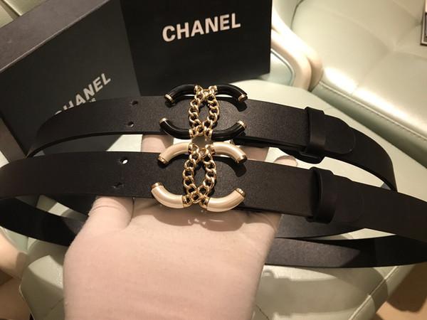 Correia original para a venda de fivelas suaves de couro das mulheres, cinto de luxo de moda de alta qualidade, caixas de presente, entrega gratuita!