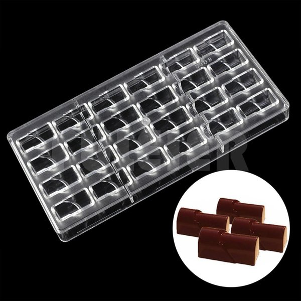 Diy Creative Polycarbonate Chocolate Moulds Kitchen Accessories Eco -Friendly Baking Dish Plastic Candy Cake Baking Pastry Tools