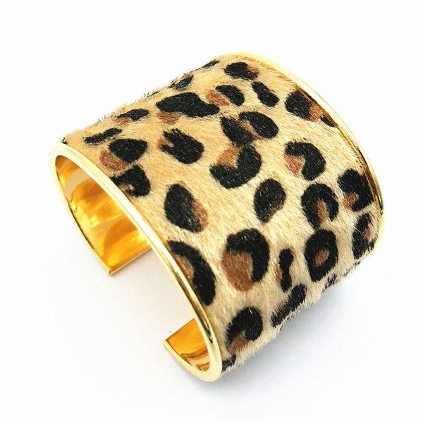 2018 New Trend alloy Cute Multi-color Leopard Bracelets Wedding Clothing Accessories Ethnic Style Wild Bracelet for Women Jewelry wholesale