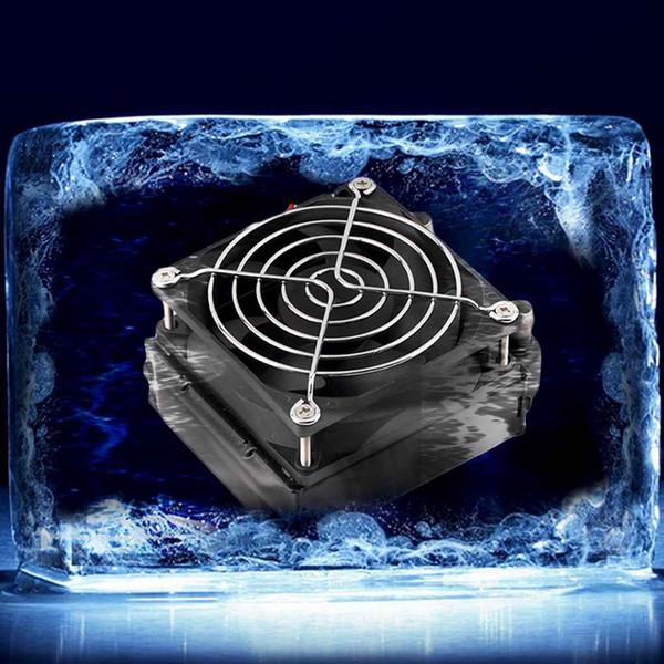 Radiador de refrigeração de refrigeração refrigerador de água da fileira do alumínio 80mm com o fã para o PC do processador central